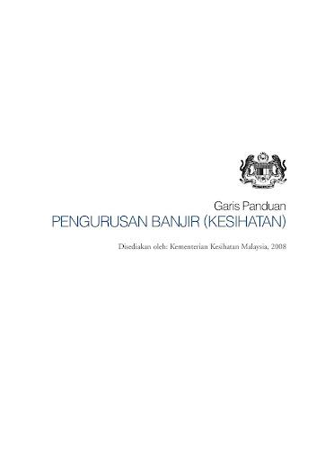 KKM BKP GP Pengurusan Banjir