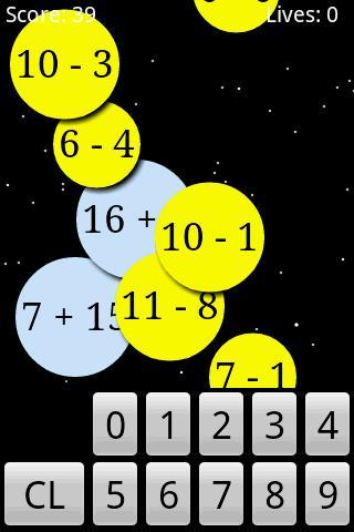 Math Workout- screenshot