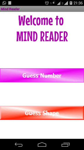 Mind Reader Magic Free