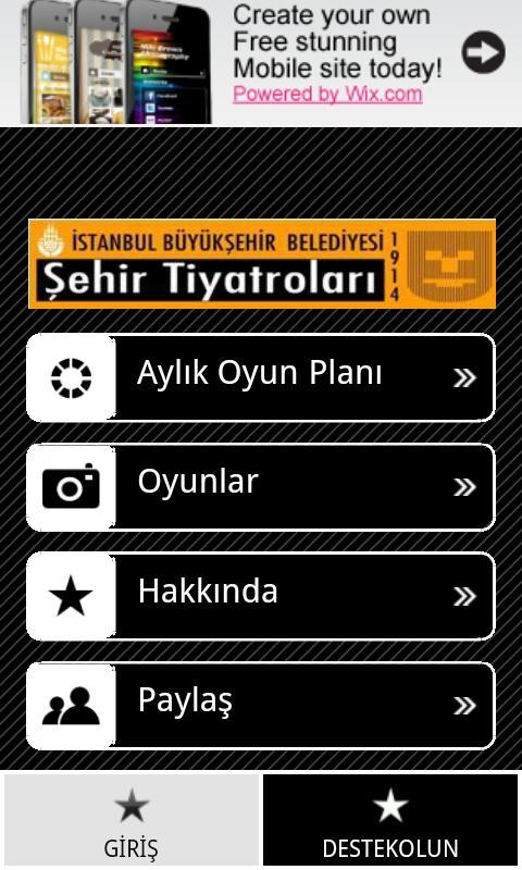 Şehir Tiyatroları- screenshot