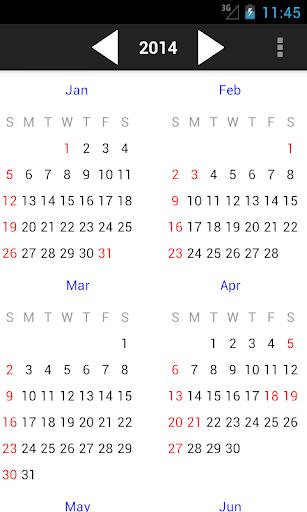 玩生產應用App|新加坡假期日曆 2016免費|APP試玩