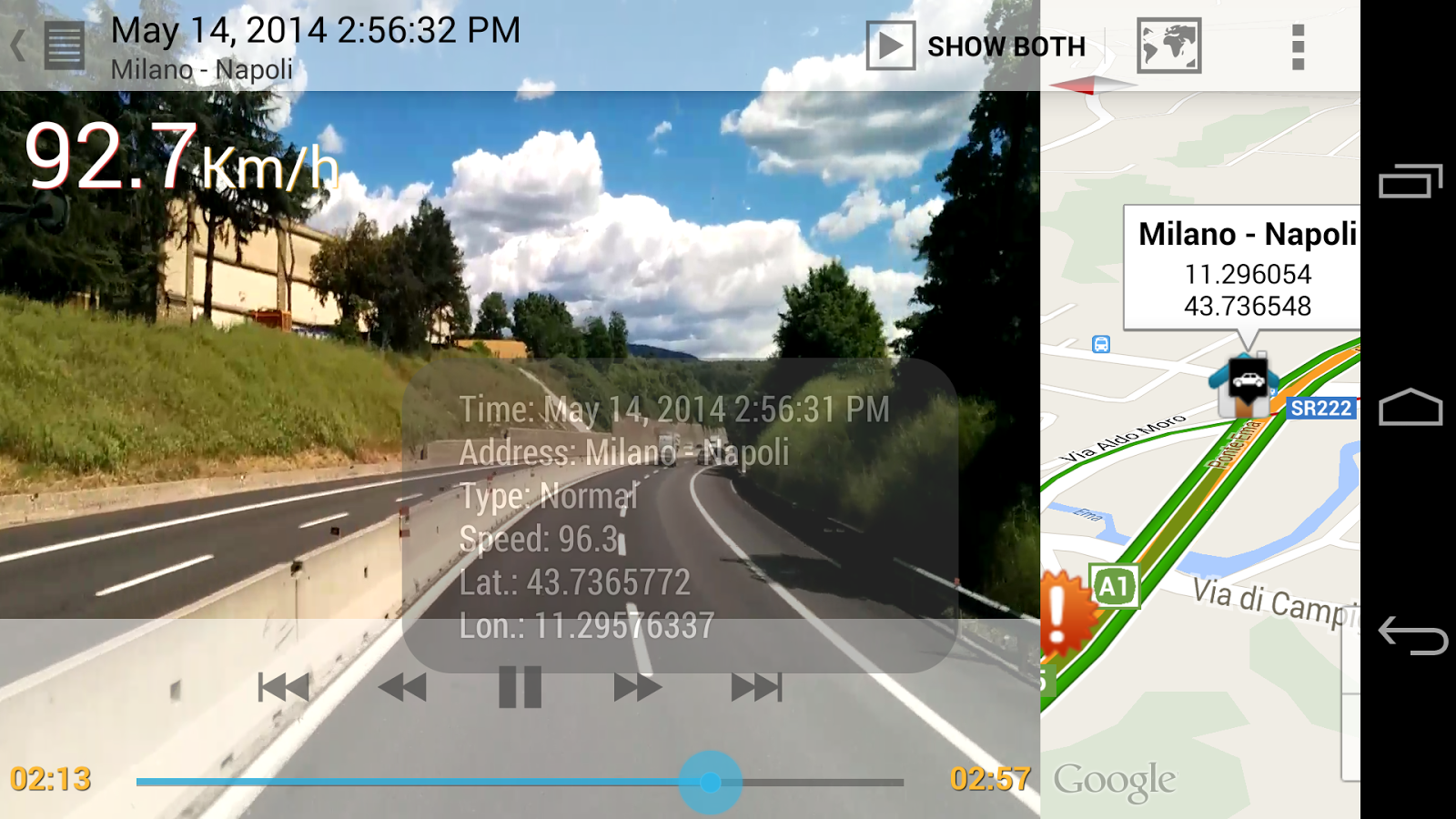 AutoGuard Dash Cam - Blackbox - screenshot