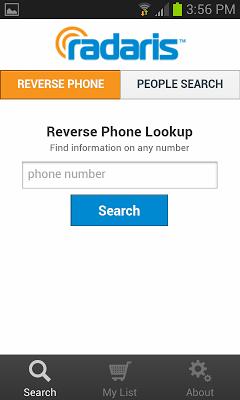 Reverse Phone Lookup - Radaris - screenshot