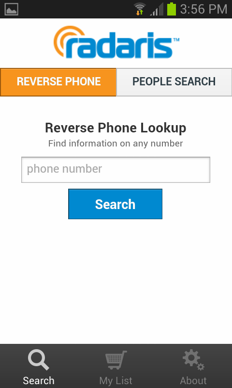 Reverse Phone Lookup - Radaris- screenshot