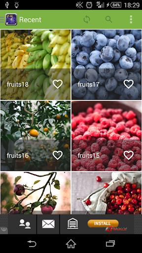 Fond d'écran fruits