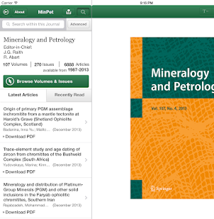 Mineralogy and Petrology - screenshot thumbnail