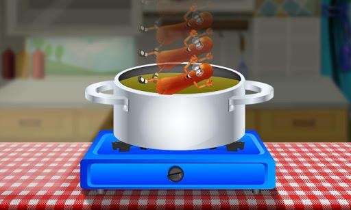 热狗争夺 - 厨房游戏