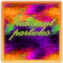 Iridescent Particles Live Wall icon