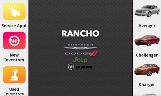 next vehicle in the palm of your hand the rancho chrysler jeep dodge. Cars Review. Best American Auto & Cars Review