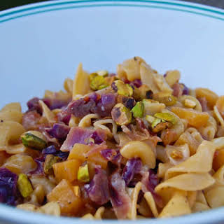 Beets & Red Cabbage Pasta.