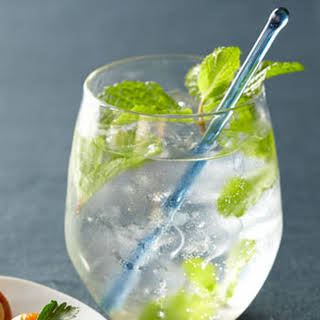 Minted Gin Froths.