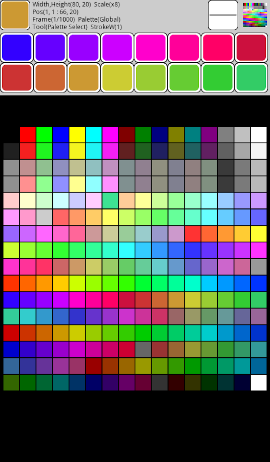 Pixel art Painter- screenshot