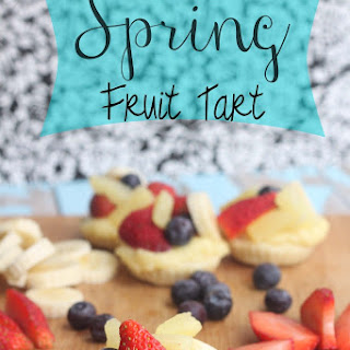 Spring Fruit Tart Pastry