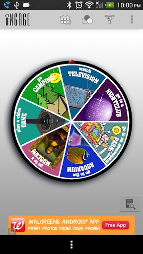 Ingage Activity Wheel