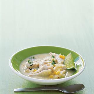 Coconut Fish Chowder.