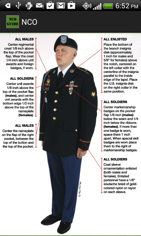 How to wear dress blues army pictures