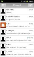 Screenshot of GO SMS Executive Theme