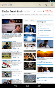 New Zealand Newspapers - screenshot thumbnail