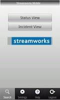 Screenshot of Streamworks Mobile