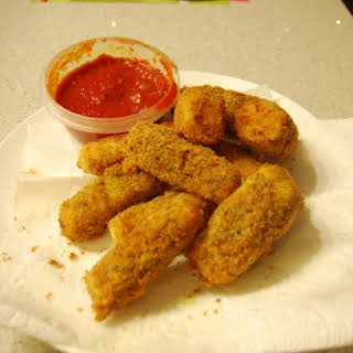 Fried Mozzarella Sticks.