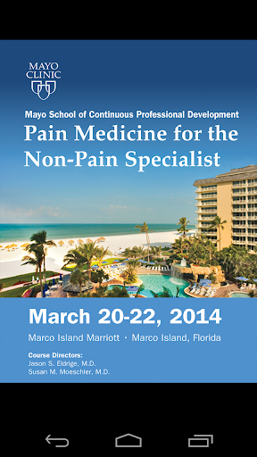 Mayo Clinic Pain Med Course