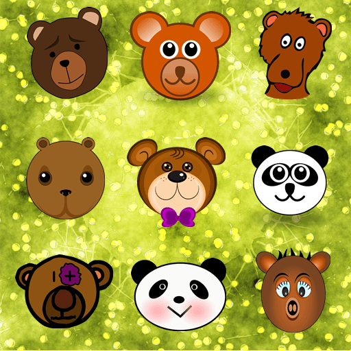 Bear Memory 紙牌 LOGO-阿達玩APP