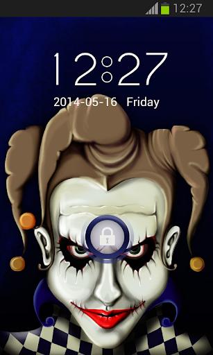 手機鎖定主題小丑