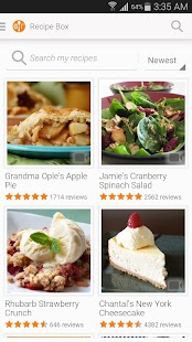 Allrecipes Dinner Spinner - screenshot thumbnail