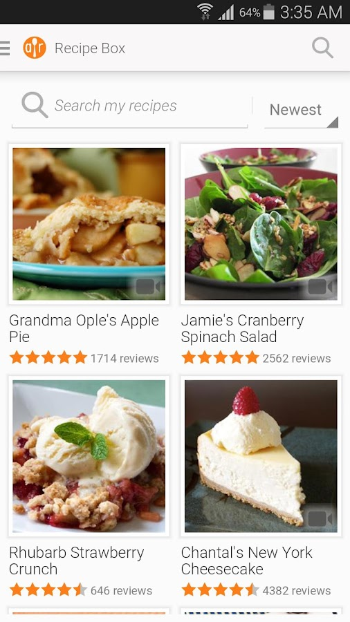 Allrecipes Dinner Spinner - screenshot