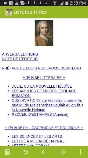 Rousseau : Oeuvres complètes