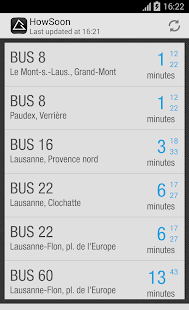 HowSoon:Swiss Public Transport- screenshot thumbnail