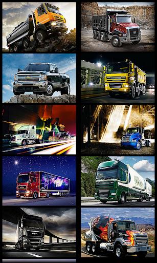 Truck Racing Wallpaper