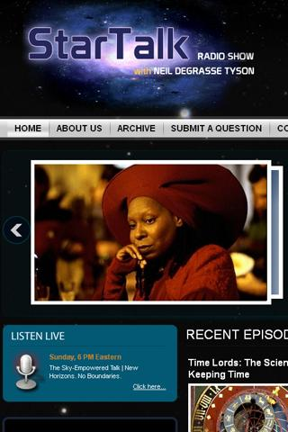 StarTalk Radio - screenshot