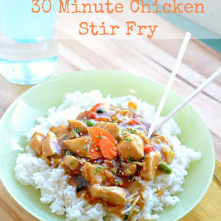 Quick and Easy Chicken Stir Fry.