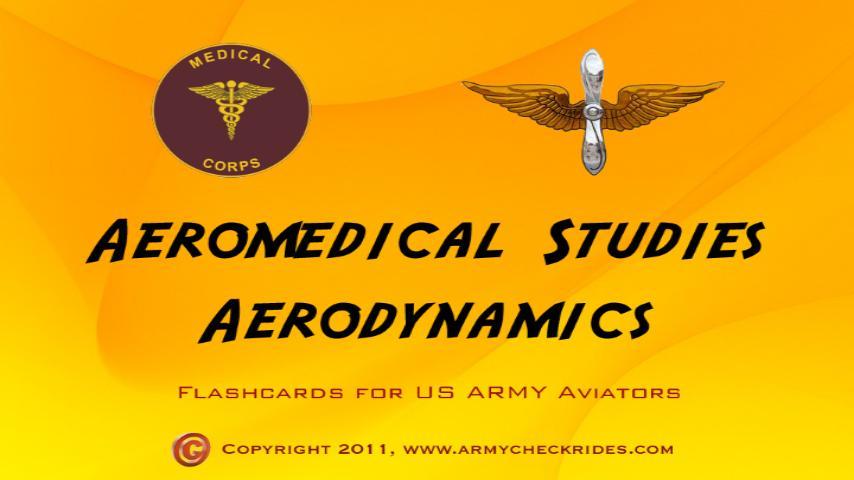 Aeromed Flashcard Study Guide - screenshot