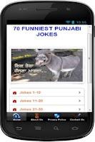 Screenshot of Funny Punjabi Jokes