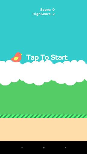 Flat bird