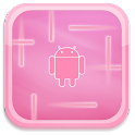 Pink Android Live Wallpaper logo
