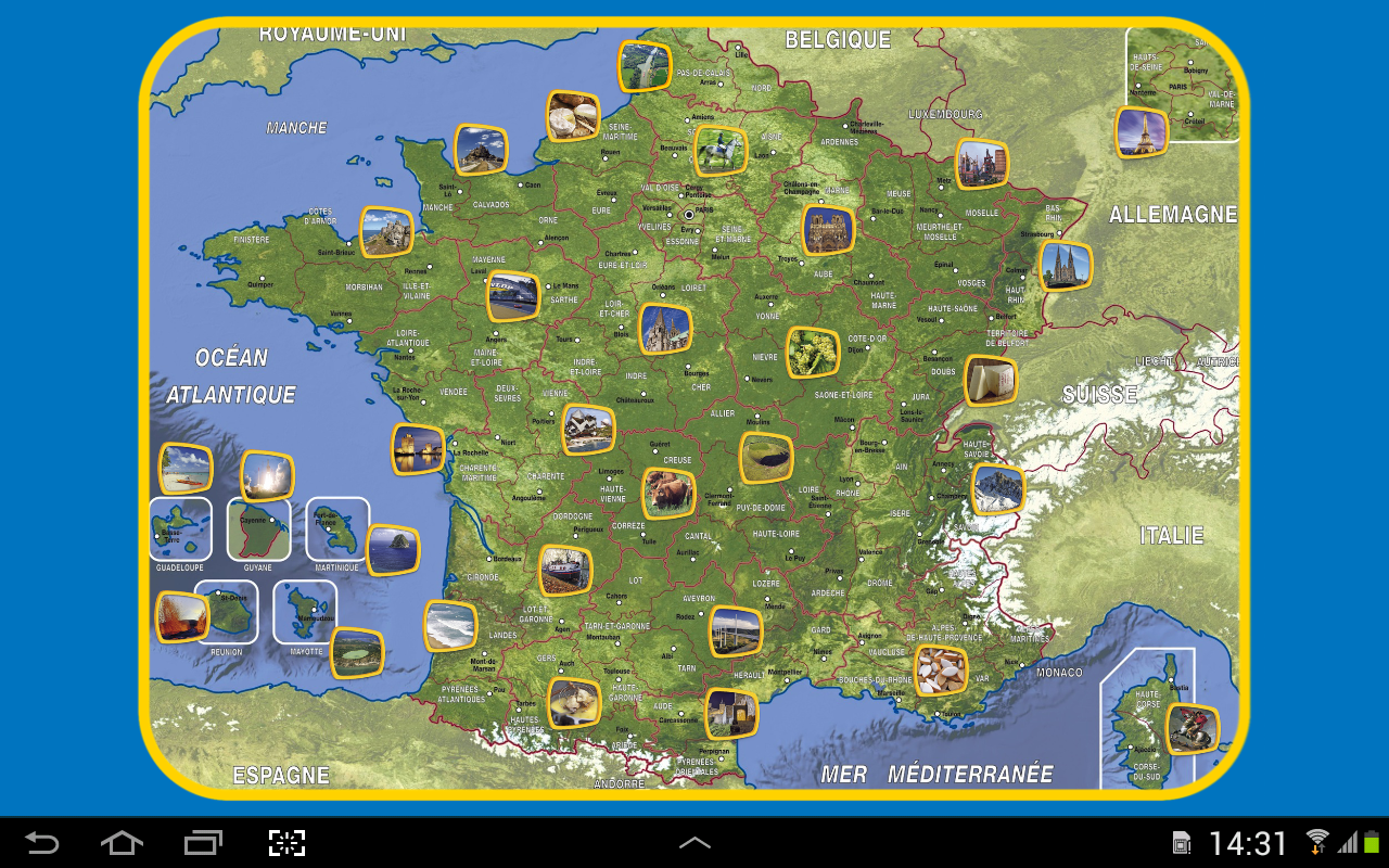 Appuzzle France- screenshot