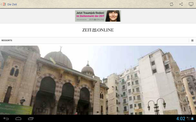 Deutsche Zeitungen - screenshot