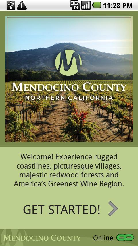 Mendocino County - screenshot