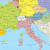 EUROPE POLITICAL MAP HD