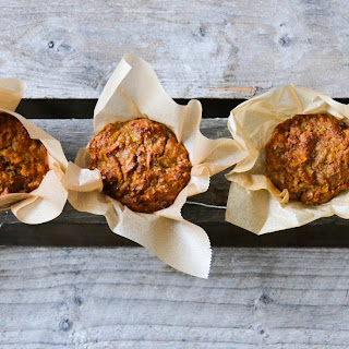 Super healthy carrot cupcakes (adapted from Green Kitchen Stories)