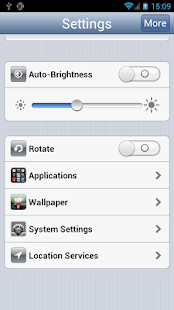 Settings Pro - iPhone Style - screenshot thumbnail