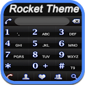 RocketDial Neon Black Theme icon