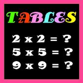 Multiplication Tables Lite