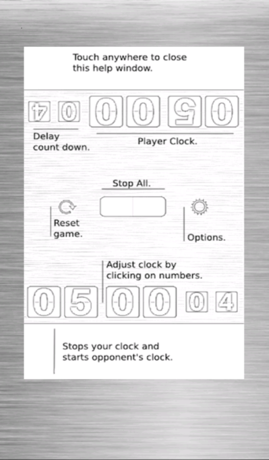 CG Chess Clock Free - screenshot