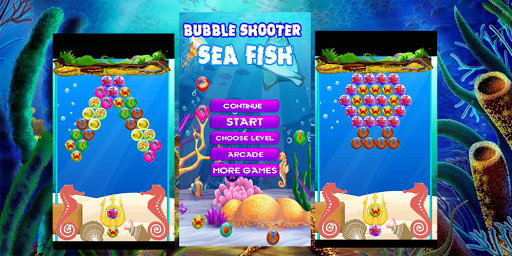 Bubble Shooter Fish