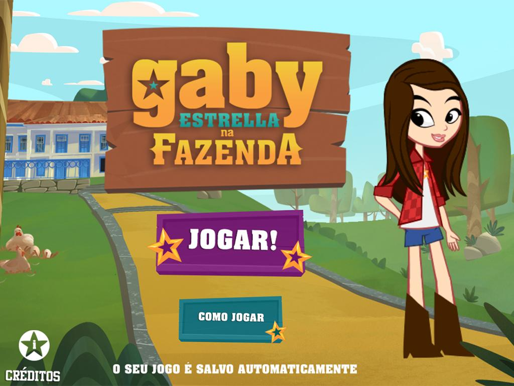 Gaby Estrella na Fazenda- screenshot