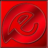Red Dream HD EvolveSms Theme
